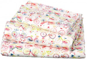 Toshi cot sheet set
