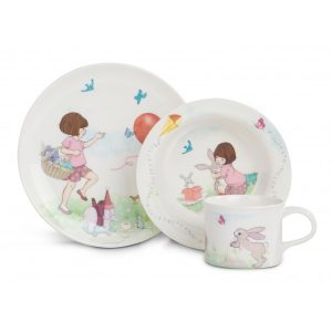 belle and boo melamine set 3 piece boxed set - Easter gift guide for babies and kids - Gift Grapevine