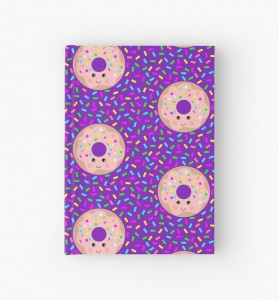 donuts and sprinkles hardcover journal - Gift Grapevine baby and kids gift idea picks - April 2016