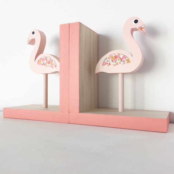 flamingo bookends - Gift Grapevine baby and kids gift idea picks - April 2016