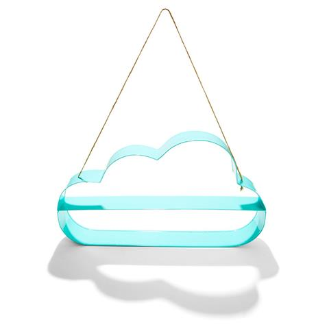 Cloud wall shelf - great shelving ideas for kids rooms - Gift Grapevine