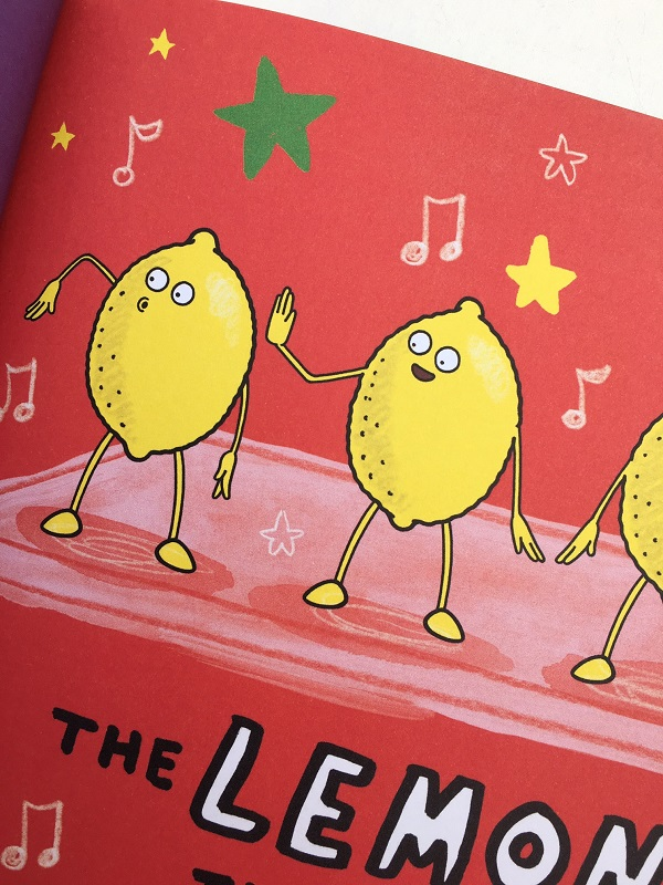 Gift Grapevine Kitchen Disco book review - Lemons