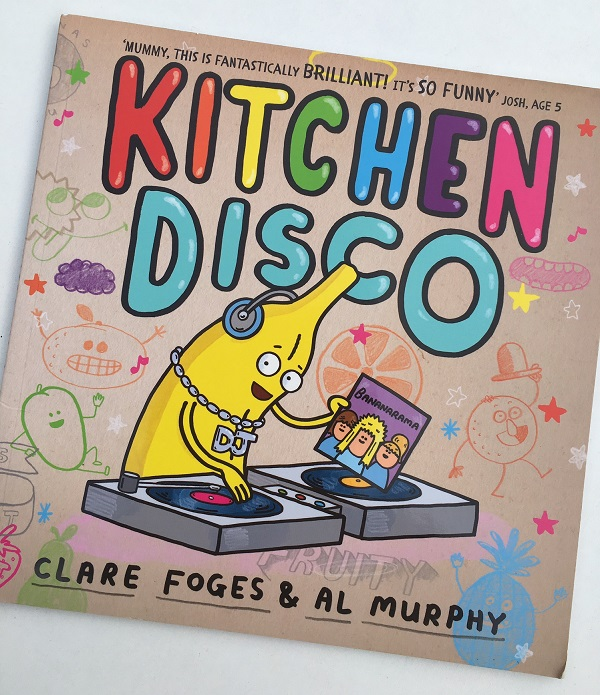 Book reviews by kids, for kids: Kitchen Disco