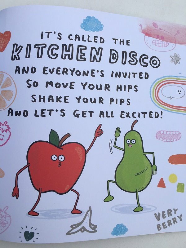 Gift Grapevine Kitchen Disco book review - shake your pips