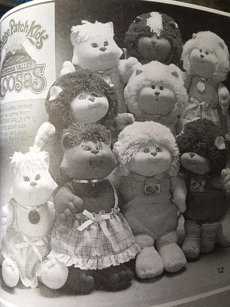 Gift Grapevine retro toys - Cabbage Patch Kids Koosas