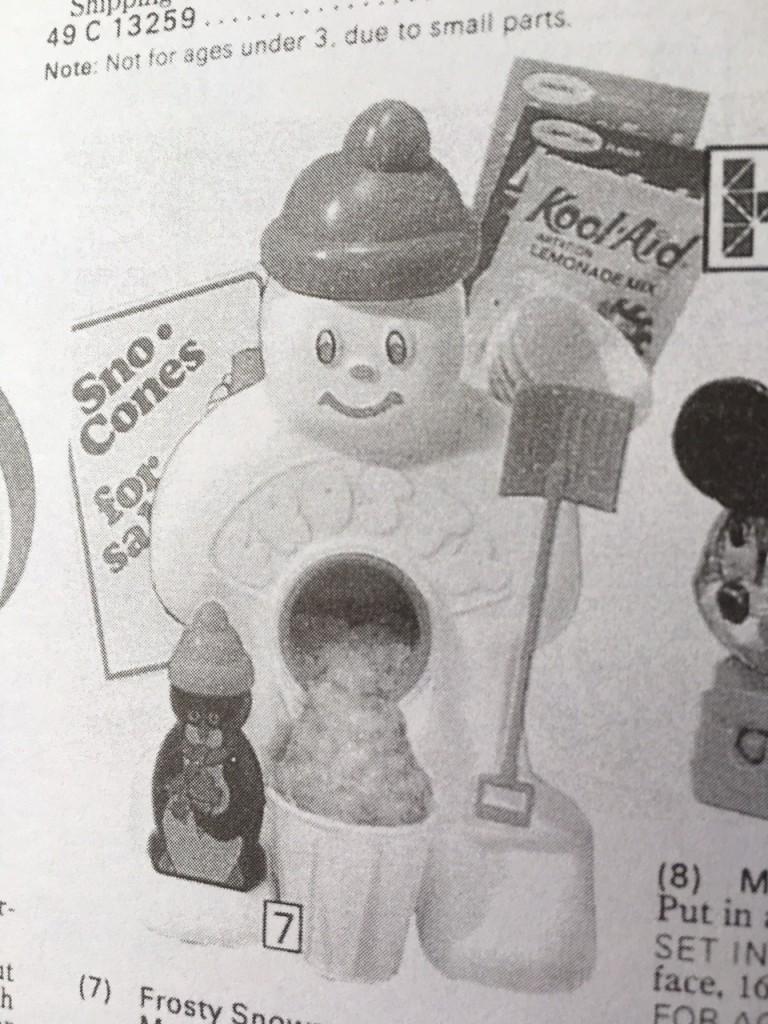 Gift Grapevine retro toys - Frosty snow cones