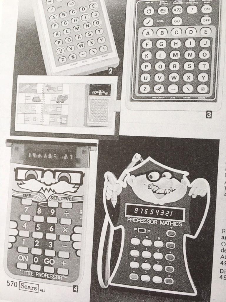 Gift Grapevine retro toys - Little Professor