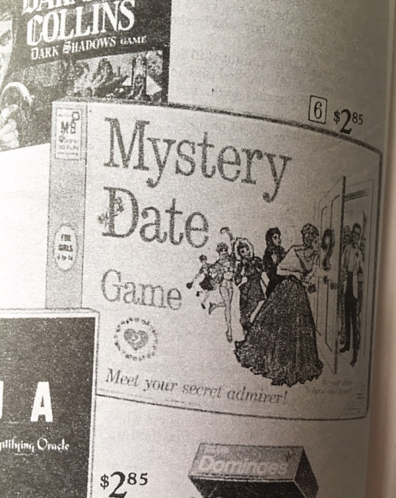 Gift Grapevine retro toys - Mystery Date board game
