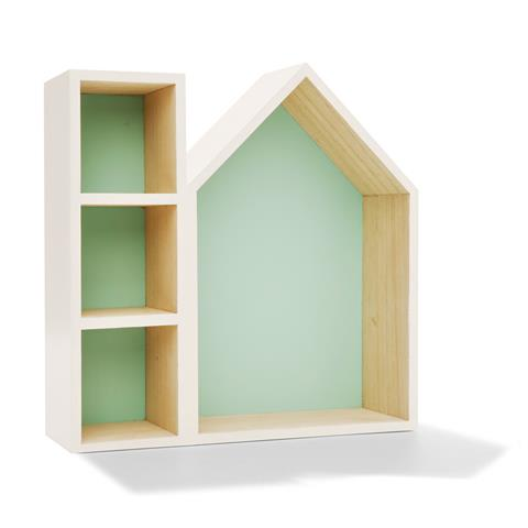 House shadow box - great shelving ideas for kids rooms - Gift Grapevine