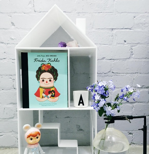 Mint Rhapsody Milky Attic House - great shelving ideas for kids rooms - Gift Grapevine