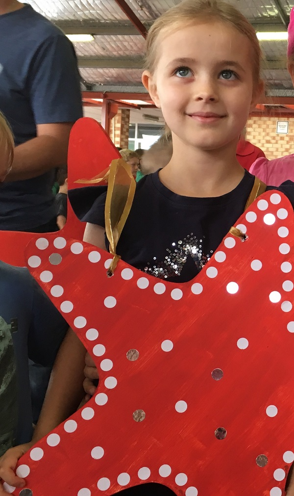 How to make a starfish costume - from a craft challenged person with Gift Grapevine
