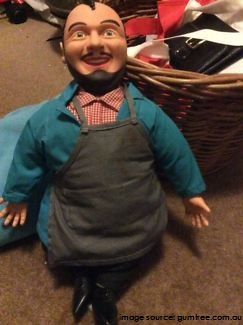 My gift memories - con the fruiterer talking doll - Gift Grapevine