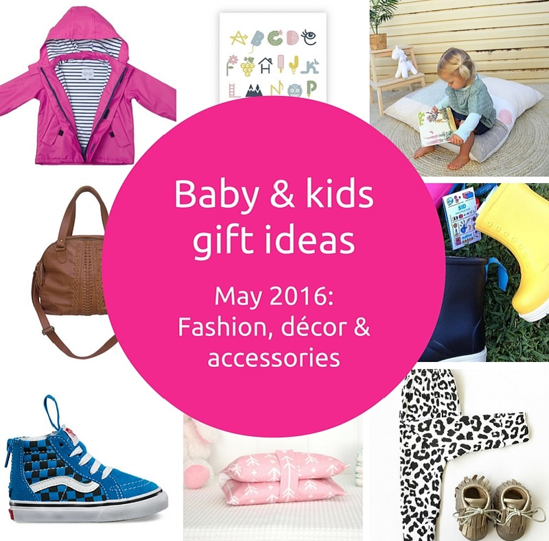 Baby and kids gift ideas - May 2016 - Gift Grapevine