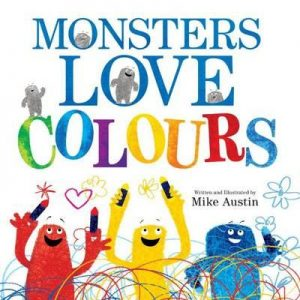 Gift Grapevine kids book reviews - Monsters Love Colours cover