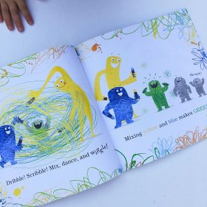 Gift Grapevine kids book reviews - Monsters Love Colours inside 3