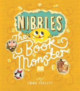 Gift Grapevine kids book reviews - Nibbles the book monster cover