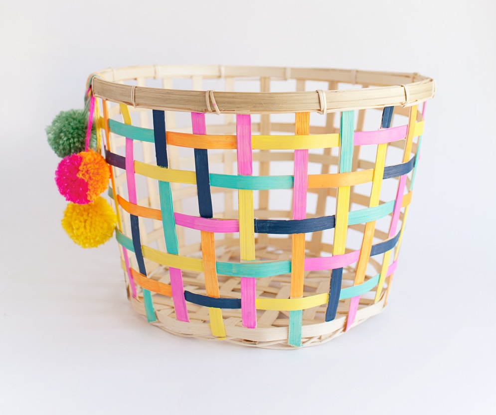 IKEA hack DIY basket - Gift Grapevine toy storage ideas