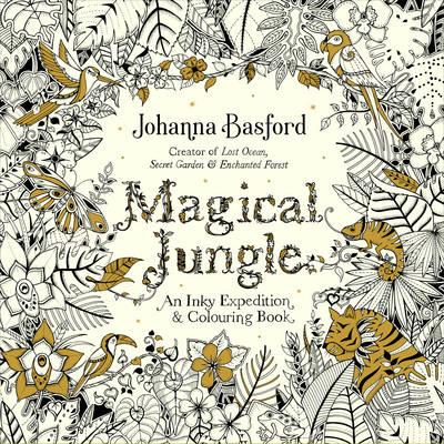 Magical Jungle colouring - Gift Grapevine May baby and kids gift ideas