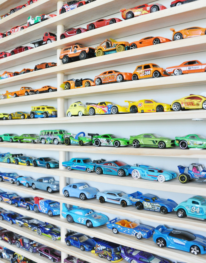 Matchbox Car garage - Gift Grapevine toy storage ideas