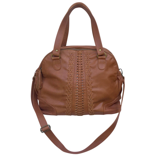 Vintage leather nappy bag - Gift Grapevine May gift ideas