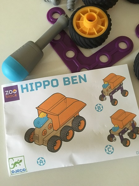 Gift Grapevine reviews: Djeco Zooblock Hippo Ben + GIVEAWAY