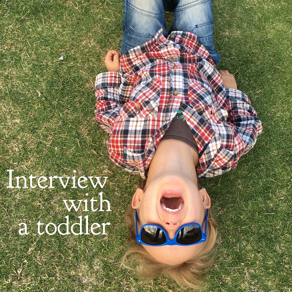 Interview with a toddler - Gift Grapevine
