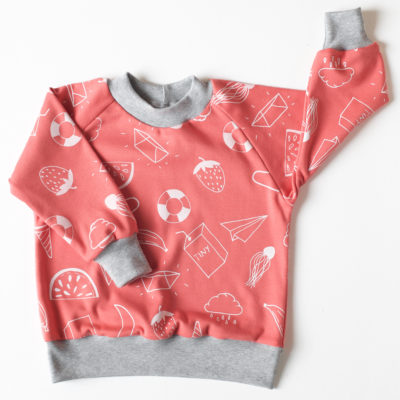 The Smallest Tribe raglan jumper - Gift Grapevine baby and kids gift ideas July