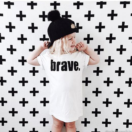Popsicle and Co BRAVE kids fashion - tshirt