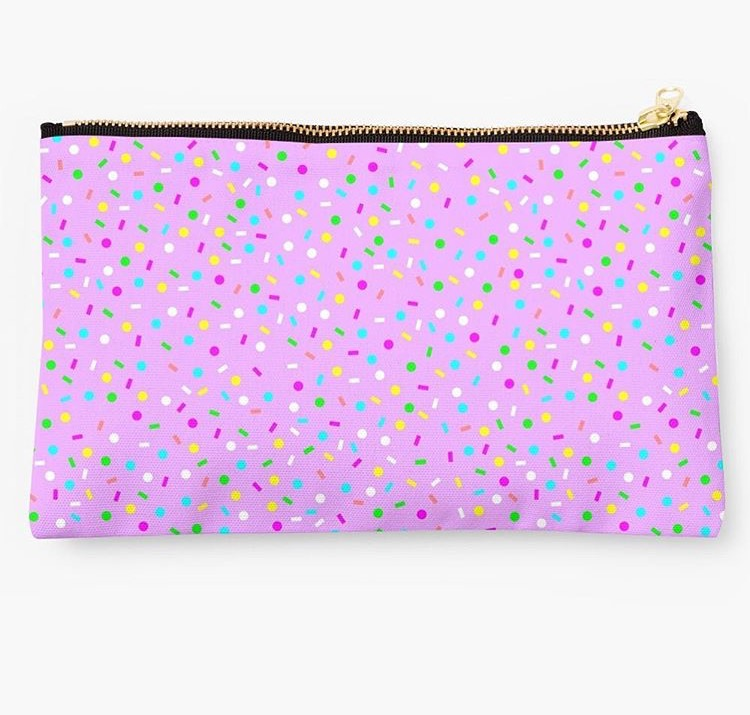Sprinkles clutch - Gift Grapevine August baby and kids gift ideas