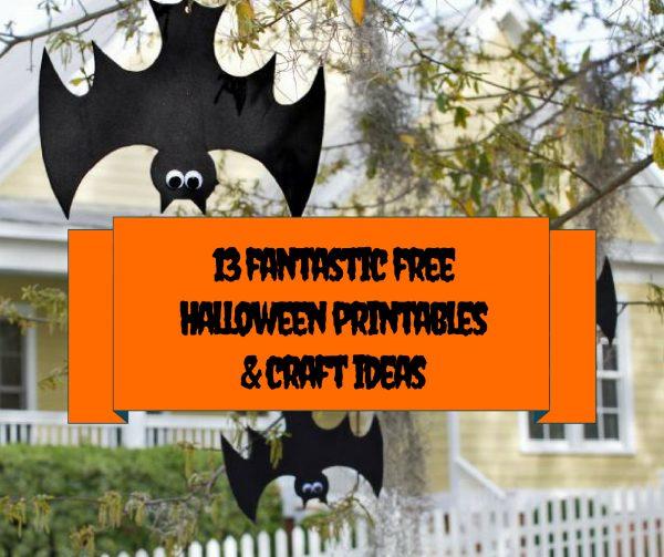 13 fantastic free Halloween printables & craft ideas