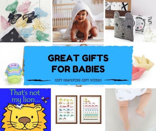 Great gifts for babies – Gift Grapevine gift guide