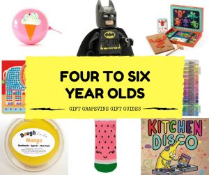 Gift Grapevine baby and kids gift guides - four to six year old