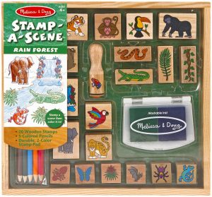 great-gifts-for-four-to-six-year-olds-rainforest-wooden-stamp-set