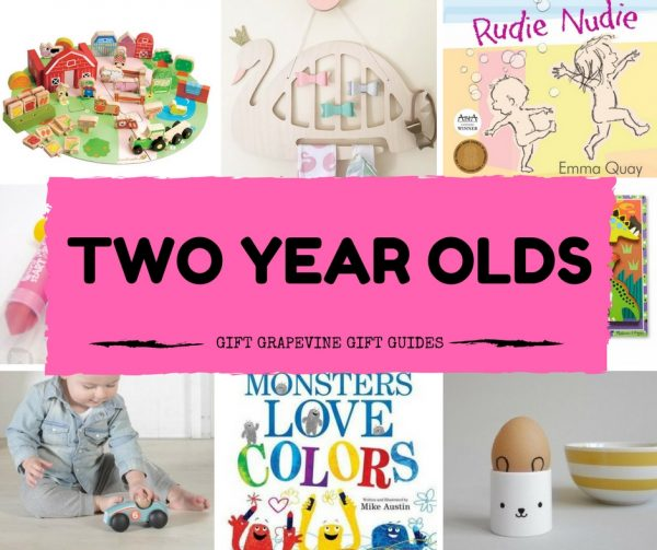 Great gifts for two year olds – Gift Grapevine gift guides