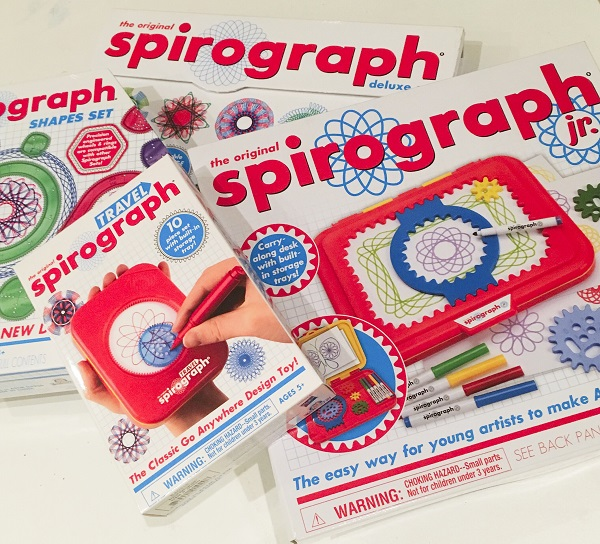 Gift Grapevine reviews: Spirograph sets – plus you could score a Spirograph Shapes Set