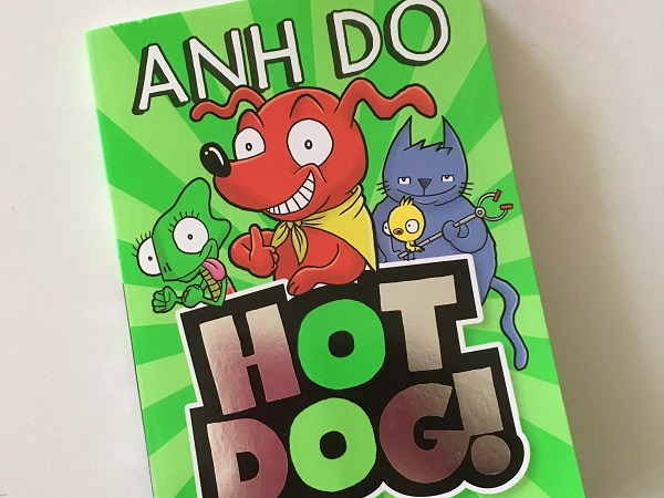 Book reviews by kids, for kids: Hotdog by Anh Do