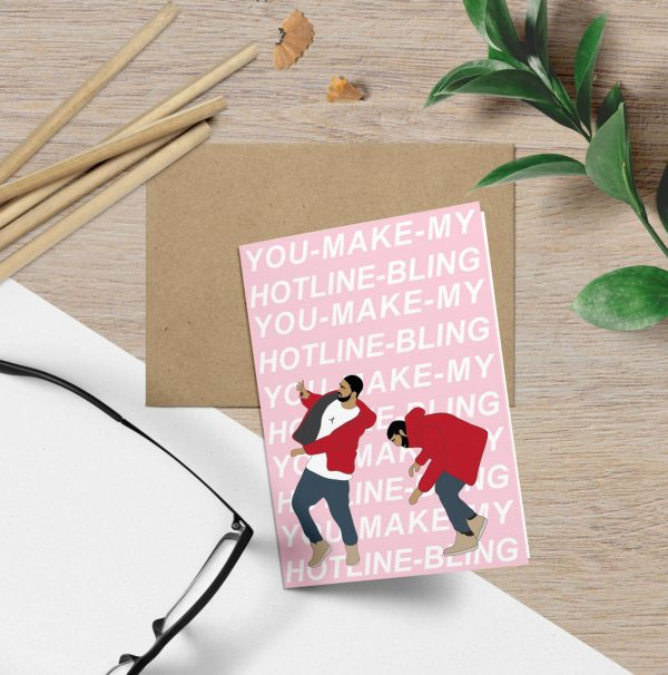 funny Valentine's Day cards - drake hotline bling