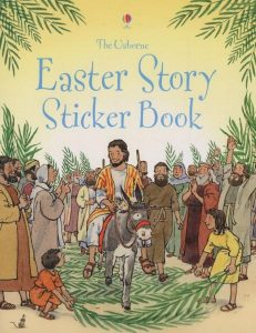 baby and kids Easter gift guide - Easter story sticker book