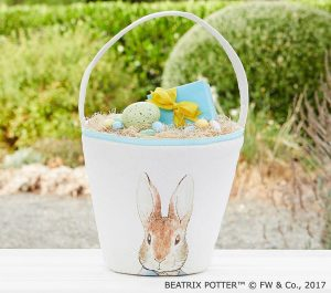 baby and kids Easter gift guide - peter rabbit basket