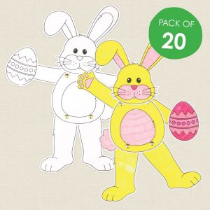 baby and kids Easter gift guide - cardboard dancing bunnies