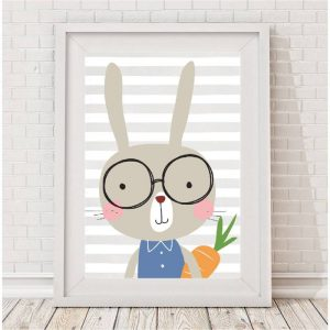 baby and kids Easter gift guide - bunny print