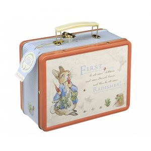 baby and kids Easter gift guide - peter rabbit tin lunch box