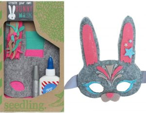 baby and kids Easter gift guide - create your own bunny mask