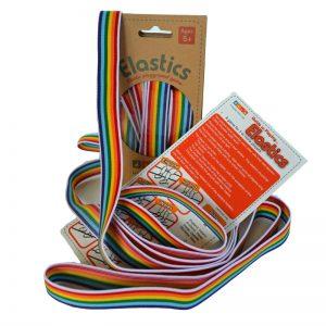 favourite schoolyard games - rainbow elastics