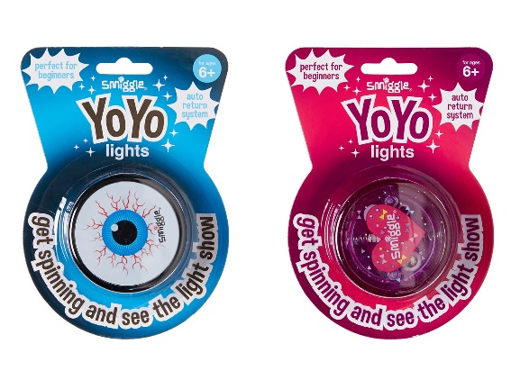 favourite schoolyard games - Smiggle light up yo-yo
