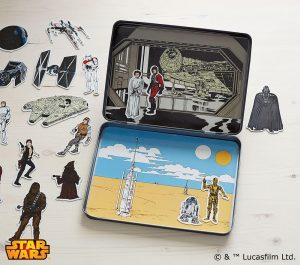 Star Wars gifts - a new hope magnetic scene