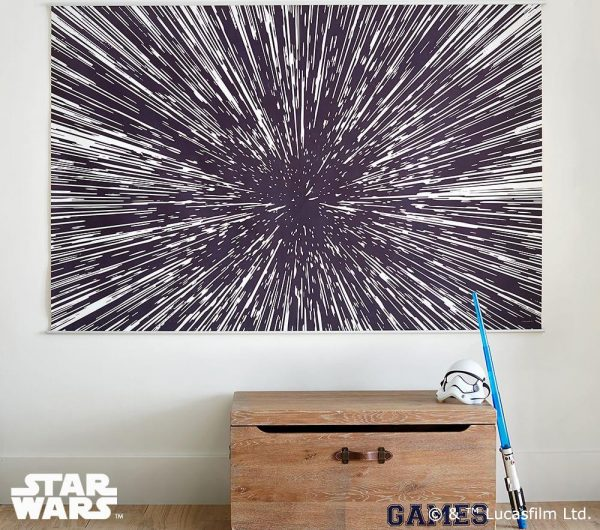 Star Wars gifts - Hyperdrive mural