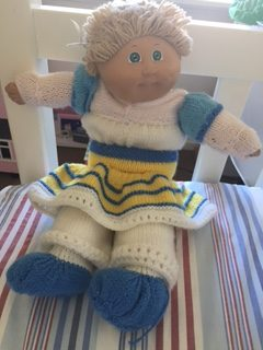 The Notorious MUM gift memories - Cabbage Patch Kid