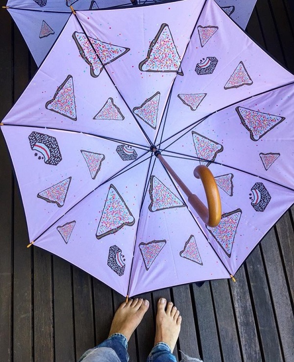 fantastic baby and kids gifts - fairy bread umbrella