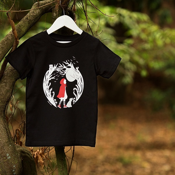 fantastic baby and kids gifts - little red riding hood tee